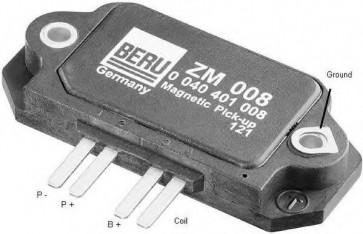 Beru ZM008 / 0040401008 Ignition Module Replaces 6086506
