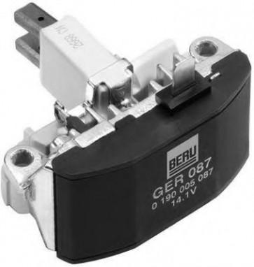 Beru GER087 / 0190005087 14.1 V Alternator Regulator Replaces 9168496
