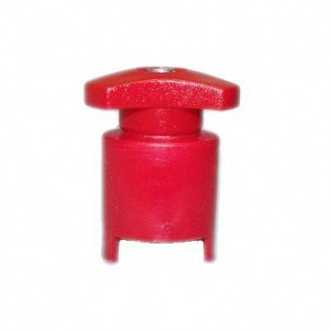 Durite 1-015-00 Battery Terminal Positive French Type Red Pk1