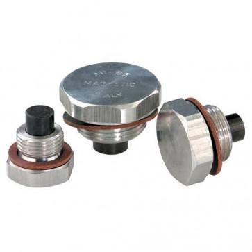 """1/4"""" BSP Aluminium Drain Plug with Magnet 1-02968"""