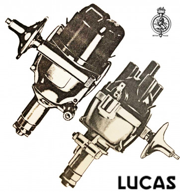 Lucas Distributor 25D6 Parts & Information