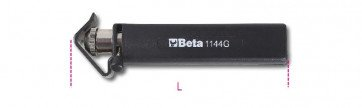 Beta Tools 1144G 140mm Cable Stripping Tool 6-75 mm² Adjustable Blade 011440004