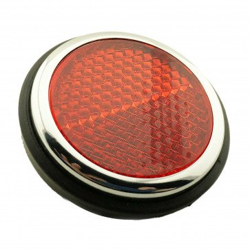 Lucas Type Red Rear Reflectors Morris Triumph Land Rover Replace 57145 RER14