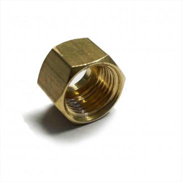 "Solder Nut Copper Petrol Fuel Pipe 1/8"" BSP - For 1/8"" & 3/16"" OD Tube"