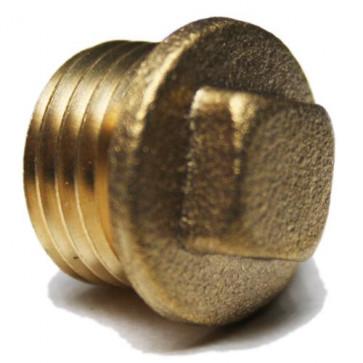 Square Headed Plug 1/4 BSP - For Petrol Fuel Pipe