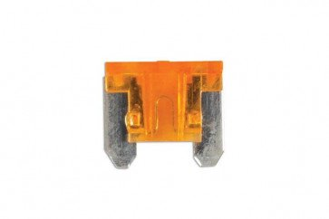 Low Profile Mini Blade Fuse 5-amp Beige Pack 25 Connect 30438