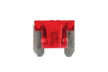 Low Profile Mini Blade Fuse 10-amp Red Pack 25 Connect 30440