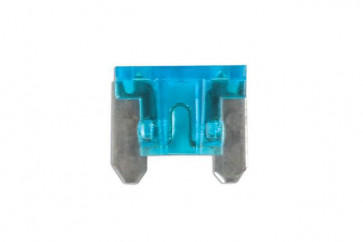 Low Profile Mini Blade Fuse 15-amp Blue Pack 25 Connect 30441