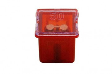 J Type Auto Low Profile Fuse Red 50-amp Pk 10 Connect 30486