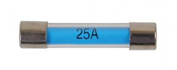 Glass Auto Fuse - 25-amp Pk 100   Connect 30499