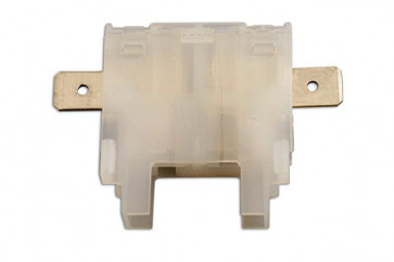 Standard Blade Fuse Holder White Pk 10 | Connect 35175