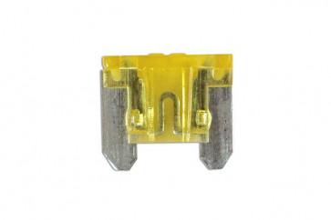 20amp Low Profile Mini Blade Fuse Pk 5 Connect 36848