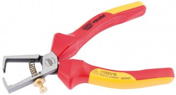 DRAPER Expert 160mm Ergo Plus Fully Insulated VDE Wire Strippers | 50256