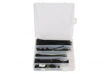 Gunson 77140 Cable Tie Kit 210pcs - Comprehensive Set!