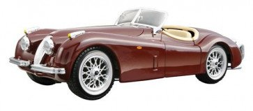 Bburago JAGUAR XK 120 ROADSTER 1951 1:24 Scale Classic Car Model Die Cast BROWN