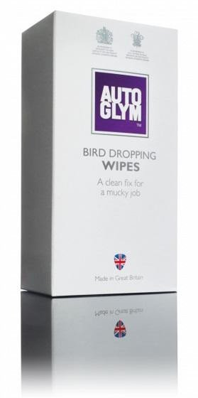 Autoglym Bird Dropping Wipes (10 Pack) Exterior Car Cleaning Wipes