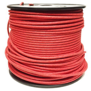 1M Cotton Braided Automotive Electrical Wire Cable 18 Gauge Red