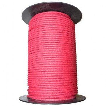 1M Cotton Braided Automotive Electrical Wire Cable 12 Gauge Red