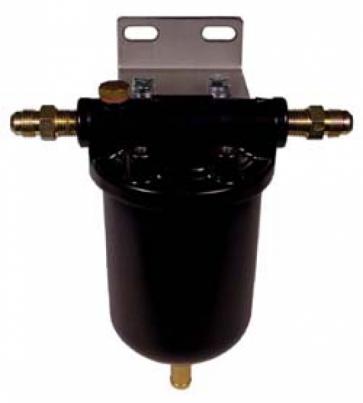 Fuel Swirl pot with 12mm - Jic6 - Jic4 Unions (CCP002)