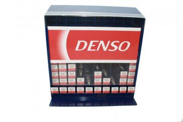 Blue Denso Car Garage Wall Display Stand Spark Plug Dispenser Holds 100 Units