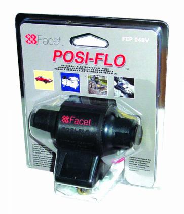 Facet FEP06SV Posi-Flow Fuel Pump Clamshell Kit (FEP06SV)