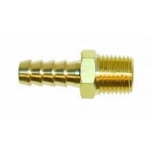 FPA904/B Brass Straight Union 1/4NPTF - 10mm (FPA904/B)