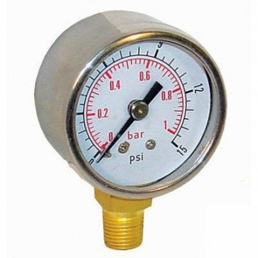 Fuel Pressure Gauge 1-15 PSI (FPG001)