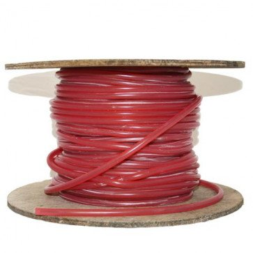 7mm HT Ignition Lead Cable - Ferroflex Core Silicone Translucent Red