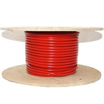 8mm HT Ignition Lead Cable - Ferroflex Core Silicone Red