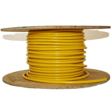 8mm HT Ignition Lead Cable - Ferroflex Core Silicone Yellow