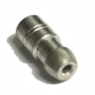 10x Bullet terminals connectors brass Crimp Solder 4.7mm Dia - 1.0 mm² wire