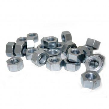 """1/2"""" Nut Bar Turned Hexagonal Nut.1/2'' CEI 20 TPI (Pk 25)"""
