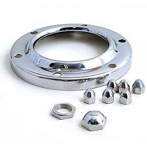 GS11050 - Bezel & Nuts - Lucas set for the Altette Horn,high quality chrome.