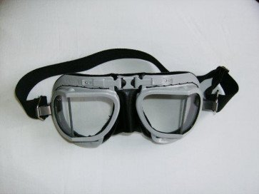 GS46002 - GOGGLES - HALCYON Mk8 Service silver painted frame