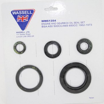 BSA Oil Seal Kit for BSA A50, A65 (1962 - 1973)
