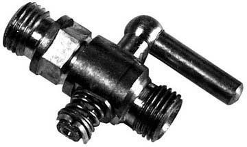GS73080 - Petrol Tap - UNIVERSAL Brass lever type Thread Type: 1/4'' x 1/4''