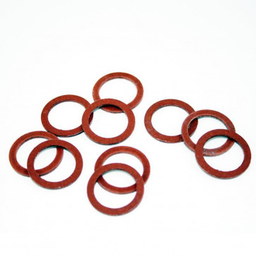 GS73117 - Universal Pack of 10 fibre washers for 3/8'' gas fuel taps (BSP).