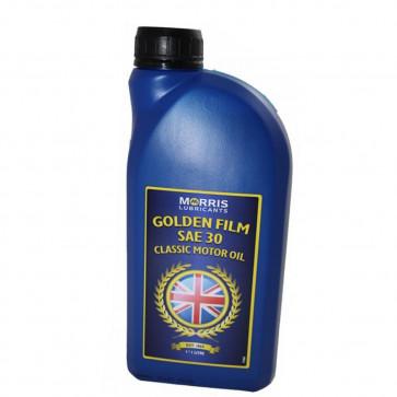 GSMLE301 -MORRIS GOLDEN FILM SAE 30 MONOGRADE ENGINE OIL 1 LITRE Low Detergent