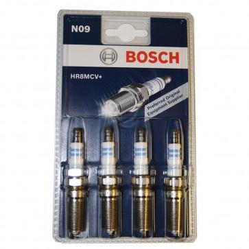 4x Bosch Spark-Plug Set HR8MCV-P4 0242229986 [4047023054265]