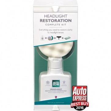 Autoglym Headlight Restoration Kit Restore Clarity to Headlight Lenses