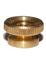 4x Spark Plug Brass Thumb Nut M4 Thread