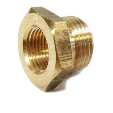 Spark Plug Thread Adaptors 18mm down to 14mm Brass (M14 & M18)