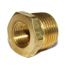 "Spark Plug Thread Adaptors Brass 1/2"" Pipe down to 14mm"