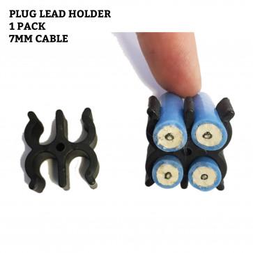 7mm or 8mm HT Ignition Lead Clamp Set Holder Seperators Spacers 4 Clip Holder
