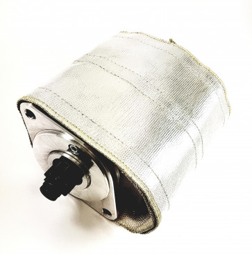 Powerlite Thermal Heat Shield Cover Silver Starter Motor Wrap Shield Protection