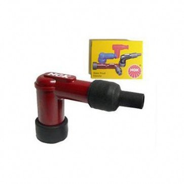 NGK LB05F Resistor Spark Plug Cap red 8854