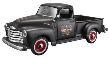 MAISTO CHEVROLET 3100 PICKUP 1950 1:24 Scale Model Toy DieCast Classic Car BLACK