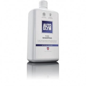 Autoglym Pure Shampoo 1Litre Foaming Car Shampoo Remove Contaminants Streak Free