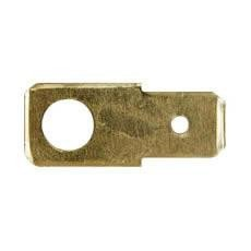 Durite 0-005-28 Terminal 6.30mm Push-on 5.00mm Hole Pack of 10