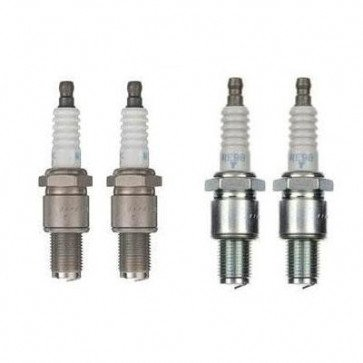 4x NGK Leading & Trailing Spark Plugs MAZDA ROT RX8 SPARK PLUGS RE9B-T & RE8C-L